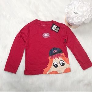 Montreal Canadians Toddler Mascot Shirt